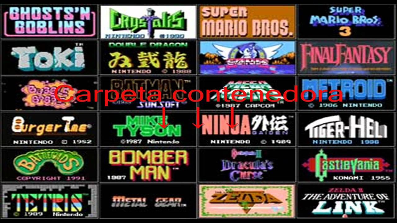 Nintendo Roms Collection Todos Los Roms De Nintendo Youtube