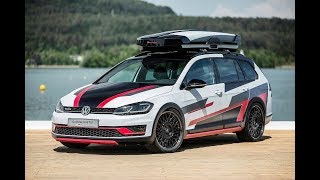 New Volkswagen Golf Variant TGI GMotion Concept 2018 - 2019 Review, Photos, Exterior and Interior