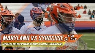 Maryland vs Syracuse | 2014 Lax.com College Highlights