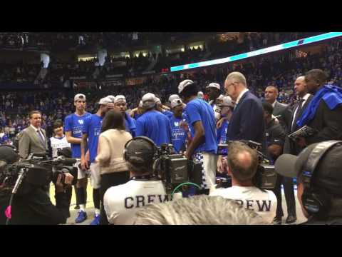 Kentucky Wildcats 2017 SEC Men
