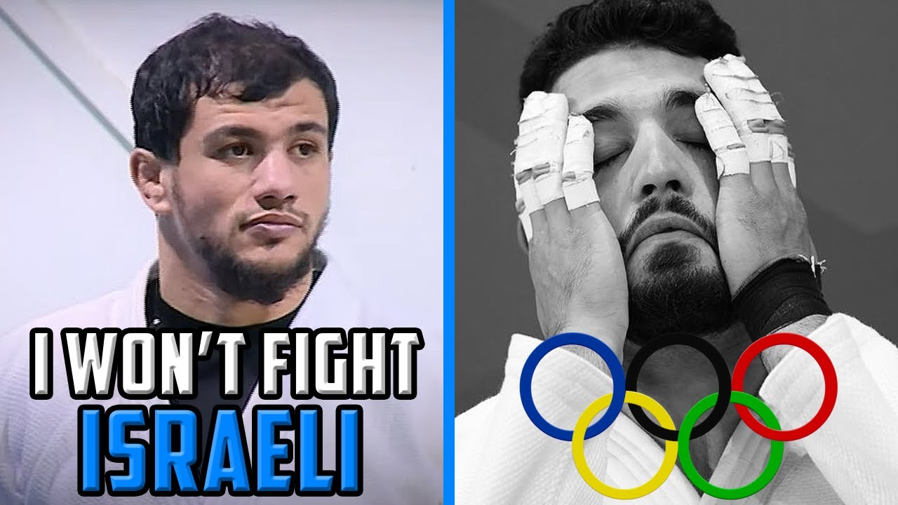 MUSLIM REMOVED FROM OLYMPICS FOR PALESTINE