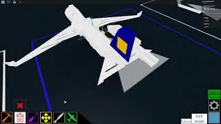 ROBLOX | Plane Crazy Mini Jumbo Jet Tutorial
