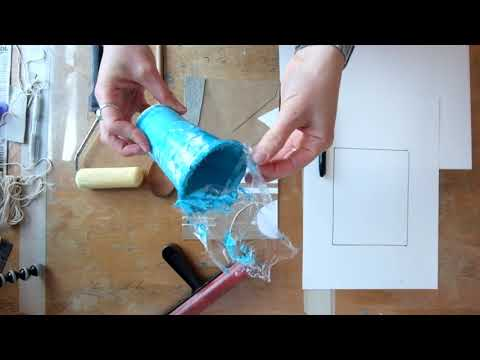 DIY Cardboard Printing - Printmaking At Home