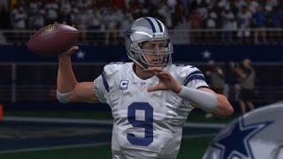 Can Tony Romo win at frigid Lambeau Madden 15 Online Gameplay Cowboys vs. Packers