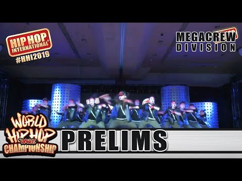 L.I.V.E. Army - Canada (MegaCrew)   HHI 2019 World Hip Hop Dance Championship Prelims