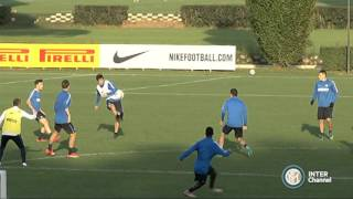 ALLENAMENTO INTER REAL AUDIO 20 10 2015