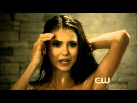 """The Vampire Diaries 2x15 ** Best Scene ** Katherine Shower   """"Happiness Is Overrated"""""""
