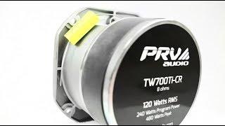 PRV Audio / TW700Ti-CR - Pro Audio Titanium Super Tweeter 120 Watts RMS