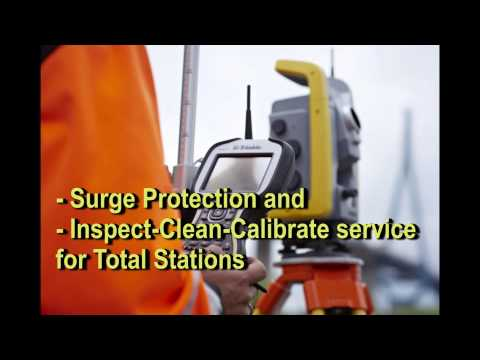 Trimble Protected PLUS+ for Survey Equipment Business