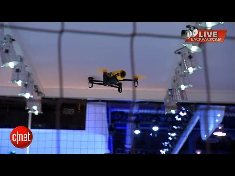 Tomorrow Daily - The Parrot drone musical extravaganza