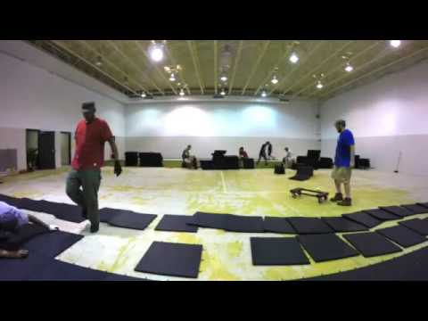 Everlast Fitness Flooring Install by Wilkins Fitness SD-Wyoming Commercial Fitness Equipment
