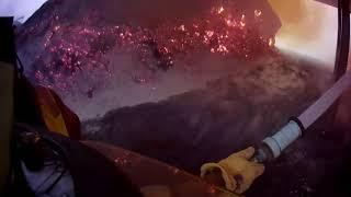 BVFD - Working Hay Barn Fire *Helmet Cam*