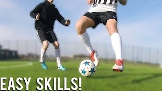 5 EASY SKILLS WHILE STANDING STILL!