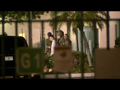 Accused Florida high school gunman escorted by sheriffs