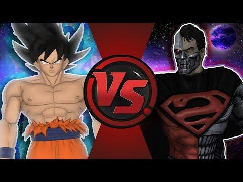 ULTRA INSTINCT GOKU vs COSMIC ARMOR SUPERMAN! (Dragon Ball Super vs Justice League Animation) DB USB