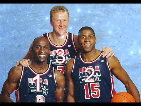 The 3 Best NBA players of all time - 1🥇 Michael Jordan,🥈 2 Magic🥉 3  Larry Bird
