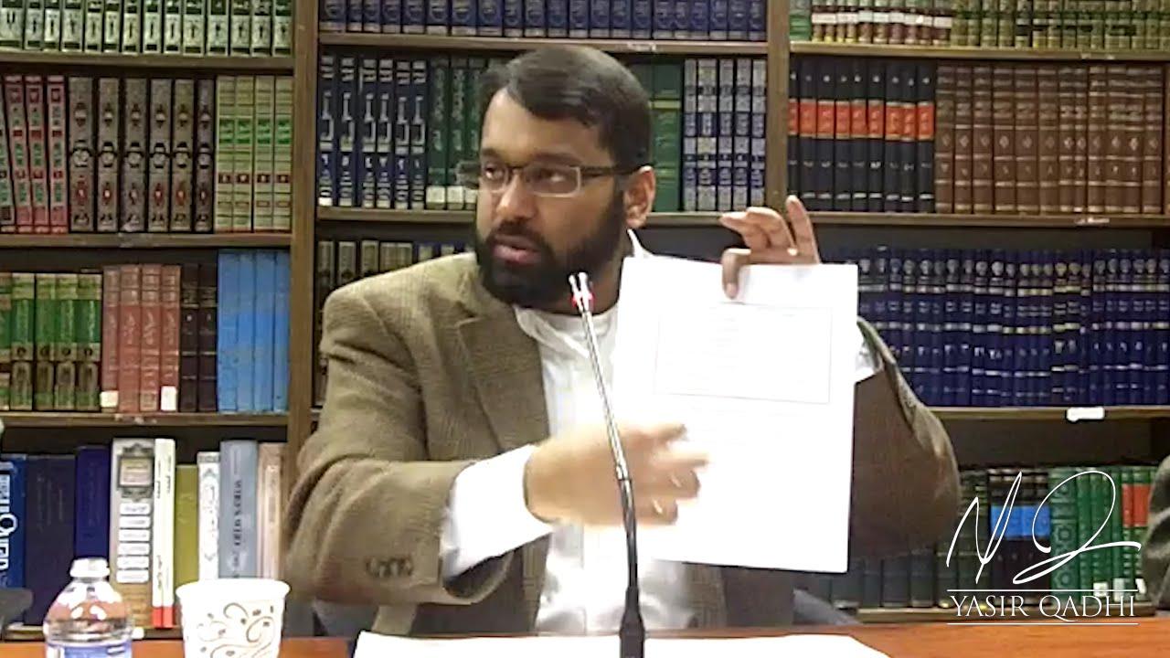 yasir qadhi thesis
