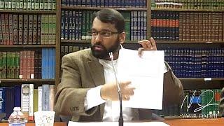 Ibn Taymiyya: A Summary of Dr. Yasir Qadhi
