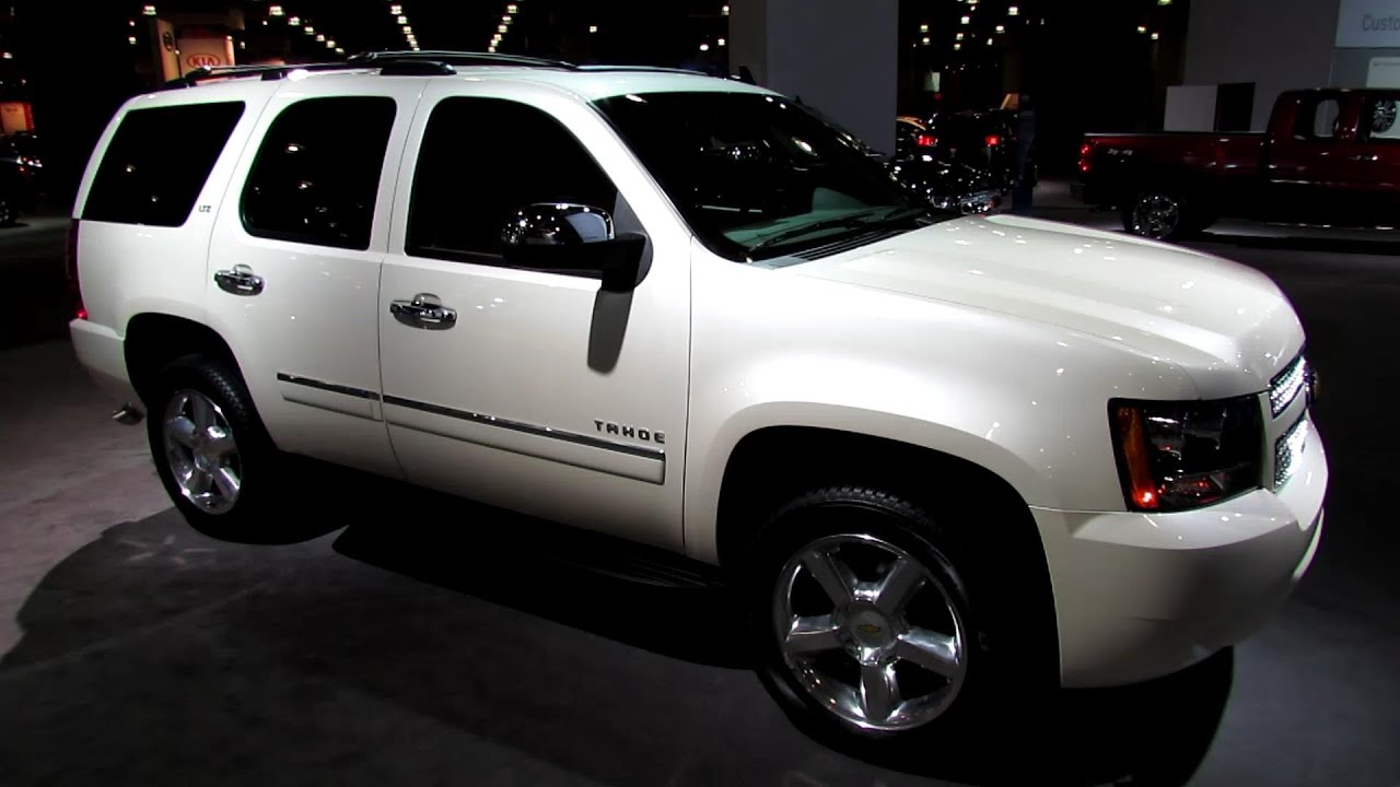 2013 chevrolet tahoe ltz exterior and interior walkaround 2013 new york auto show youtube
