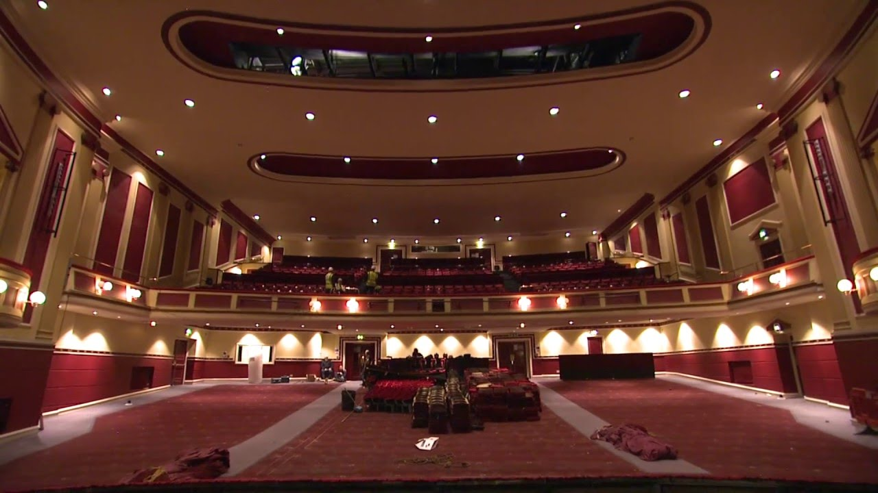 Hull New Theatre Transformation Removing The Seats Youtube