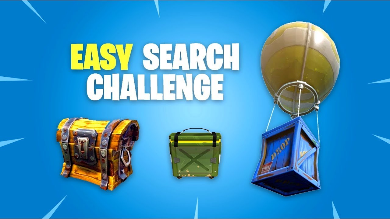 Easy Search Chest Ammo Box Supply Drop In Single Match