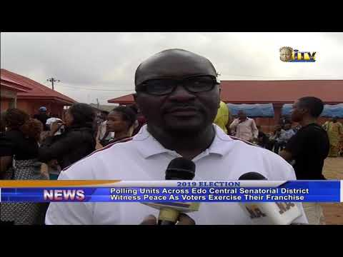 Edo Central Senatorial District witness peace as voters exercise their franchise