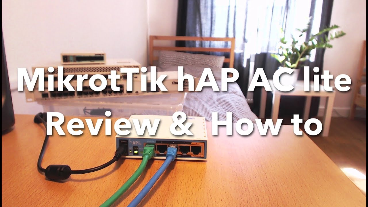 1 - Enterprise router for 50 euro?!? MikroTik hAP AC lite Review & How to