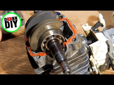 Replacing STIHL MS211 Crank Seals