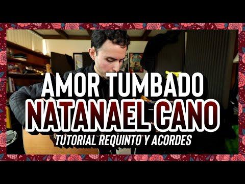 AMOR TUMBADO - Natanael Cano - Danny Felix - Tutorial - REQUINTO - ACORDES - Guitarra