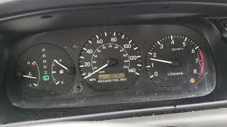 Florida Camry Redline acceleration 0-80