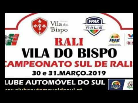 Rally Vila do Bispo 2019 Eduardo Antunes Hugo Bentes