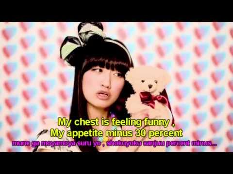 Nichijou OP 1 【PV】 Hydain Kakakata☆Kataomoi-F (O-o-one-one-sided Love - F) [ENG SUB]