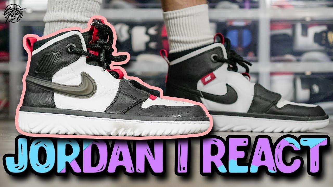 Jordan 1 React Review Is It Comfortable Youtube