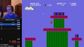 SMB1 Minus World Ending Speedrun in 2:32.832 - 検索動画 29