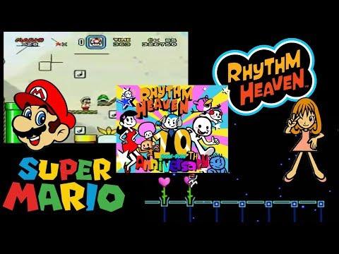 Perpetual Mario: Nico Nico Douga - Kumikyoku / Rhythm Heaven 10th Anniversary REMIX MASHUP