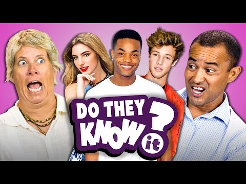 DO PARENTS KNOW VINE STARS? (REACT: Do They Know It?)