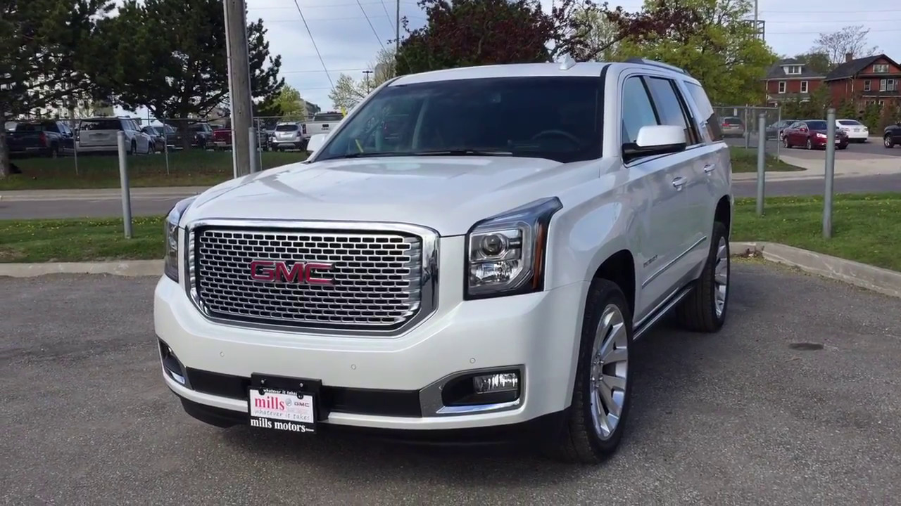 Gmc Yukon Xl Denali >> 2017 GMC Yukon Denali 4WD Heads Up Display DVD Screen ...
