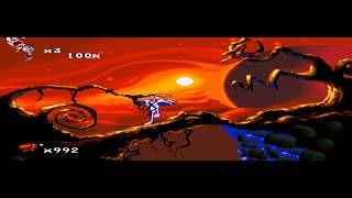 Earthworm Jim 2 - Earthworm Jim 2 (Sega Genesis) - Vizzed.com GamePlay - User video