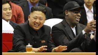 Dennis Rodman Back in North Korea, Gives Trump's