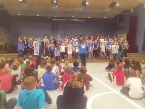East Rochester school concert