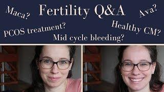 Fertility Q&A May 2019 | Maca, PCOS, homeopathy, healthy CM