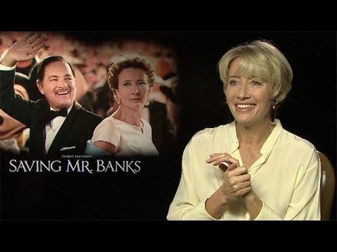 Emma Thompson: 'PL Travers would have rather looked down upon film'  Saving Mr Banks