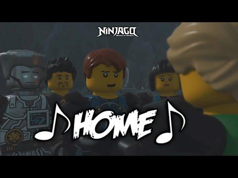 Home (FNaF) - LEGO® Ninjago (LYRICS Music Video)