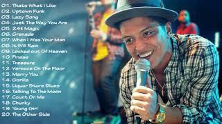 Kumpulan Lagu Bruno Mars Terbaik Terpopuler :3 Best Songs Of Bruno Mars 2018