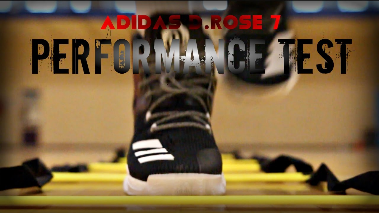 Adidas D.Rose 7 Performance Test - YouTube 24d320640