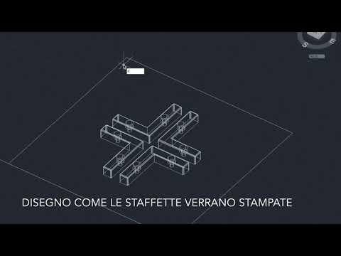 Come crearsi 4 staffette stampate in 3D