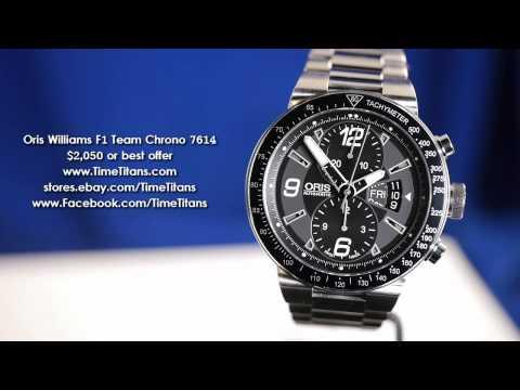 Oris Williams f1 Price Malaysia Oris Williams f1 Team Chrono