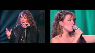 Mariah Carey - Without You 1993 vs 1995