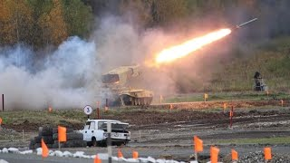 rae 2015 russia arms expo day 3 live firing bmpt terminator 2s19m2 t 90s mbt tos 1a flame thrower