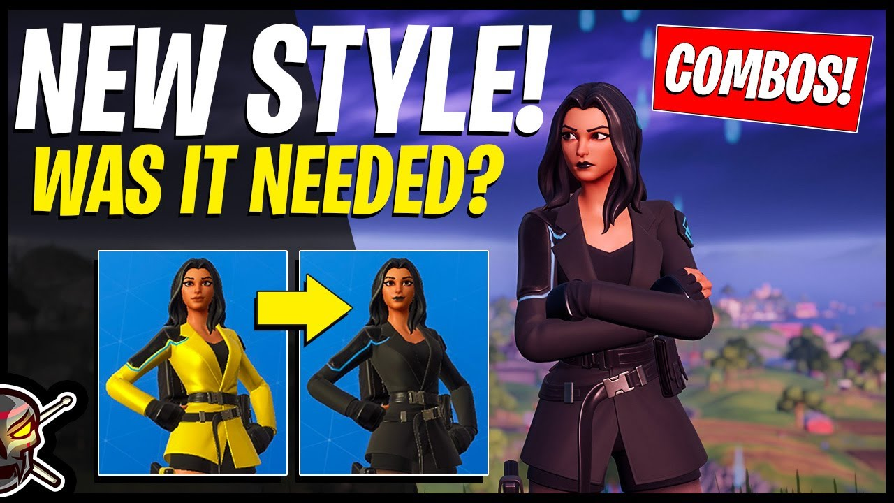 Fortnite Yellow Jacket Black Style